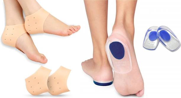 Harsh narrow fab SILICON HEEL PROTECTOR AND GEL HEEL PAD FOR PAIN RELIEF