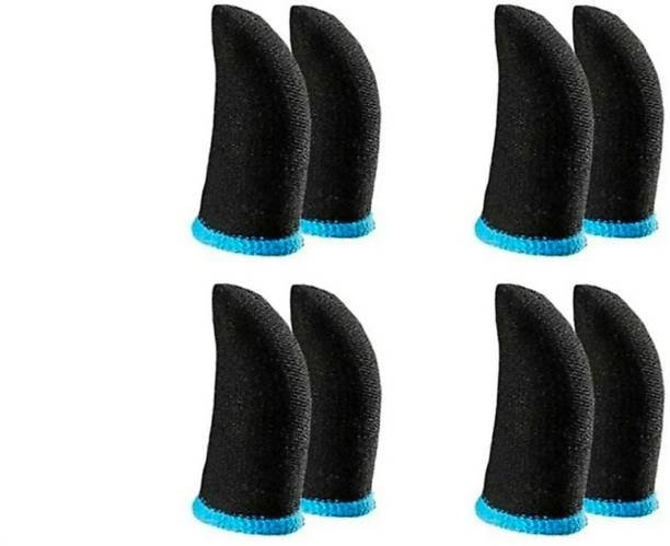 naksh collection Pubg Anti-Slip Thumb Sleeve Pack Of 4 Pair Sky Blue  Gaming Accessory Kit