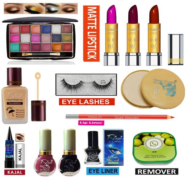 CLUB 16 Special High Quality Makeup kit of 13 Makeup Items LKI79