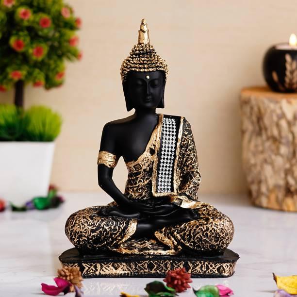 Royalbox Meditating Buddha Statue For Home Decor Idol/Showpiece Decorative Showpiece  -  22 cm