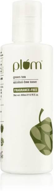 Plum Green Tea Fragrance-Free Toner | Green Tea Toner for Oily, Acne Prone Skin | Shrinks & Tightens Pores | Even-Tone Skin | 100% Vegan | Alcohol Free Men & Women