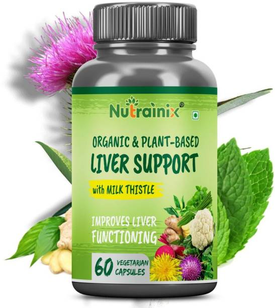 Nutrainix Organic Liver Support with Milk Thistle�