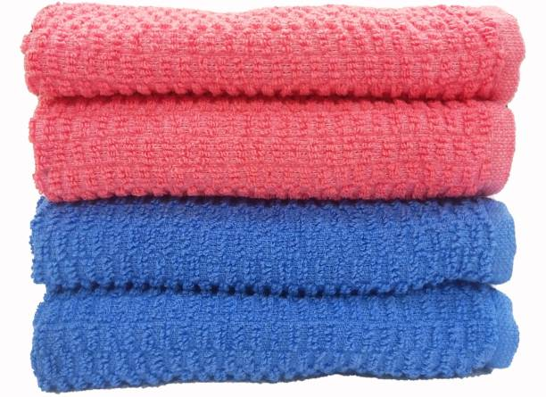 Magic Home Cotton 400 GSM Hand Towel Set