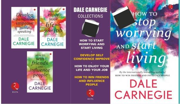 COLLECTIONS (HOW TO STOP WORRYING AND START LIVING, DEVELOP SELF CONFIDENCE IMPROVE, HOW TO ENJOU YOUR LIFE AND YOUR JOB, HOW TO WIN FRINDS AND INFLUENCE PEOPLE)