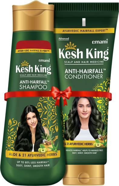 Kesh King Anti-Hairfall Shampoo 340 ml + Conditioner 200ml