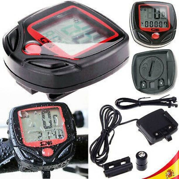 TrustShip ™ Bicycle Speedometer Display LCD And Back Light (Waterproof) Wired Cyclocomputer