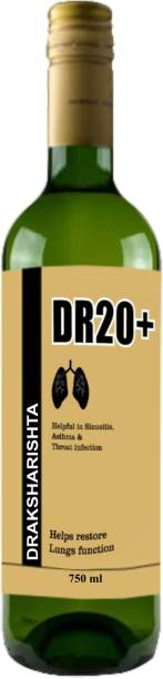 Guduchi - the ayurvedism DR20+ Draksharishta | Ayurvedic Health Drink for Cold, Cough & Throat Infection