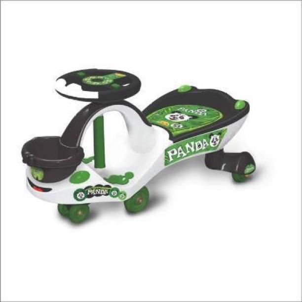 SPEZOX PANDA RIDER Rideons & Wagons Non Battery Operated Ride On