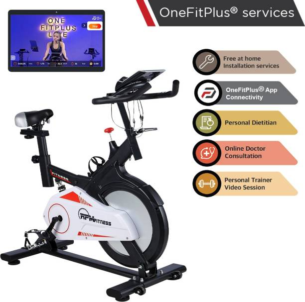 RPM Fitness RPM600 (30lbs Flywheel) with Free Diet Plan,Trainer & Installation Services Spinner Exercise Bike