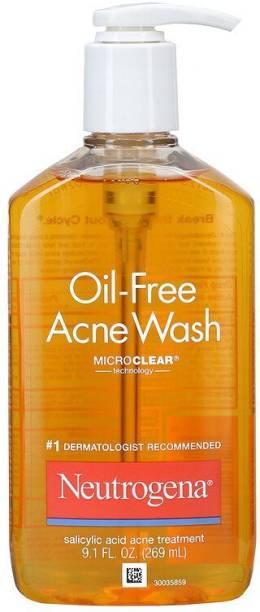NEUTROGENA Acne Wash, Oil-Free, 9.1 Fl Oz 269 ml Face Wash