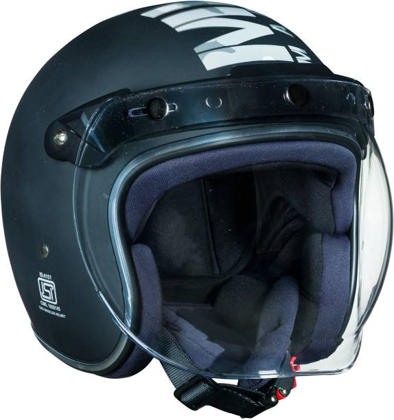 ROYAL ENFIELD Camo MLG Bobber Motorbike Helmet