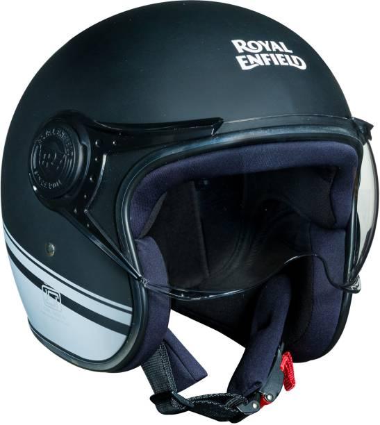 ROYAL ENFIELD Stripe Jet Helmet Motorbike Helmet