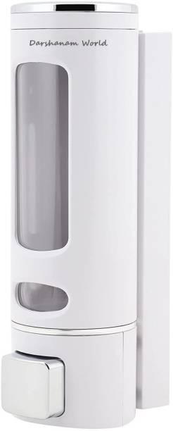 DARSHANAM WORLD Wall Mounted Liquid Soap Shampoo Hand Wash dispenser 350 ml Liquid, Lotion, Sanitizer Stand, Shampoo, Soap, Conditioner, Foam, Gel Dispenser