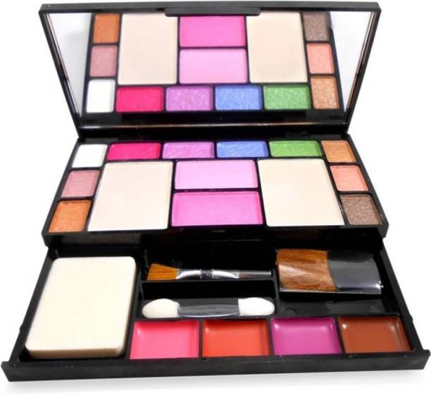 T.Y.A Makeup Kit 10 eyeshadow, 2 blusher, 2 compact powder,4 lipColor,