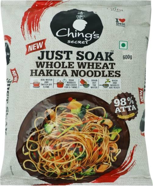 Ching's Secret Just Soak Whole Wheat Hakka Noodles Vegetarian
