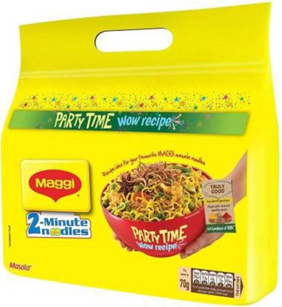 Maggi 2-Minute Instant Noodles - Masala, 560g Instant Noodles Vegetarian Instant Noodles Vegetarian