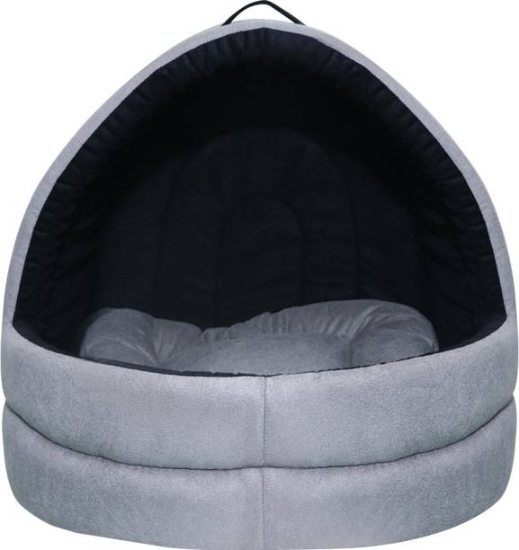 Dogerman soft Velvet cave house for cats & little dogs M Pet Bed