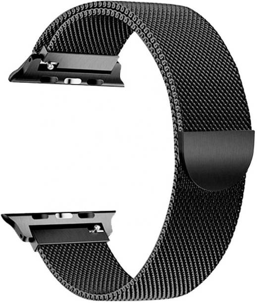 THE PRITO for Apple watch 44/42mm stainless steel Magnetic Strap(belt) Black Smart Watch Strap