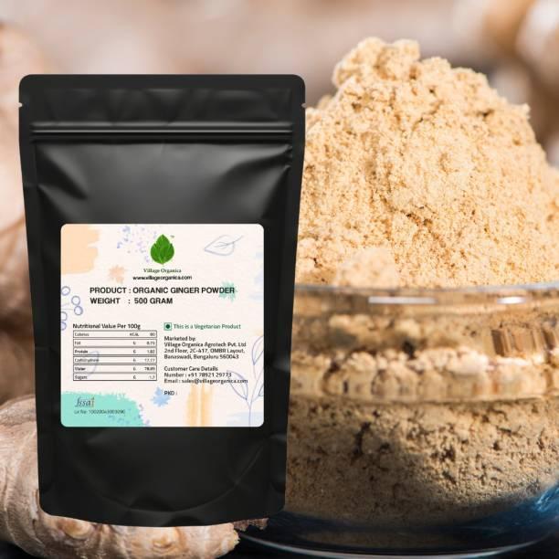 Village Organica Ginger Powder | Dried Ginger Powder | Adrak Powder | Saunth Powder (500 Gram)