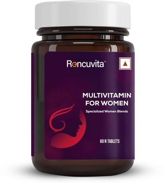 RONCUVITA Multivitamins for Women, with Vitamins & Minerals, Brain Support, Bones & Joints