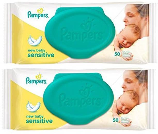 Pampers IMPORTED NEW BABY SENSITIVE 100 BABY WIPES