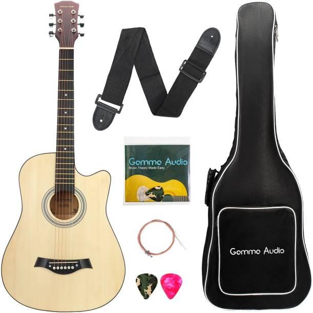 GAMMA AUDIO QD-H38Q-J Acoustic Guitar Basswood Plastic