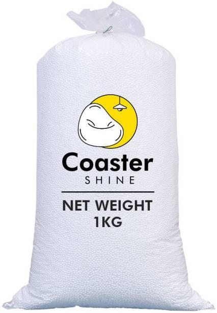 Coaster Shine Standard 1 Kg Bean Bag Refill/Filler - Earth White Bean Bag Filler Bean Bag Filler