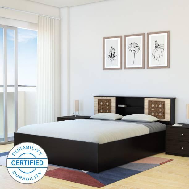 Flipkart Perfect Homes Rhapsody Engineered Wood King Box Bed