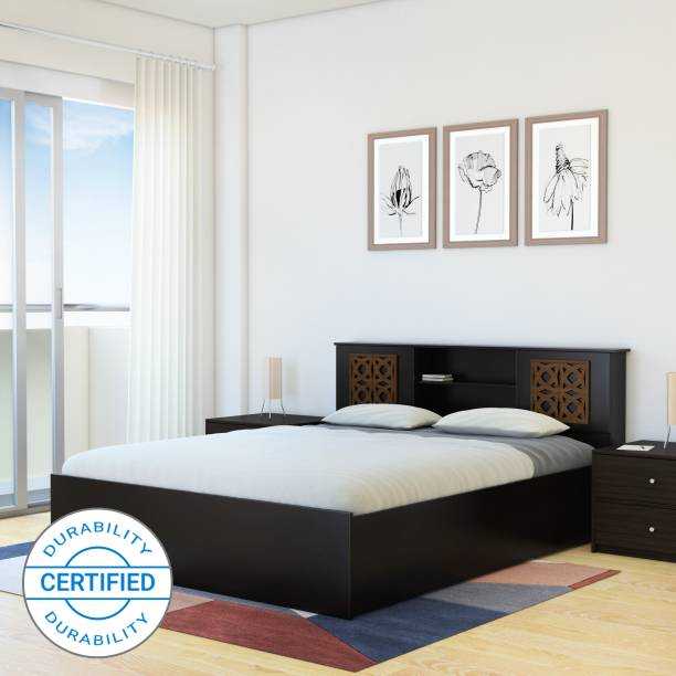 Flipkart Perfect Homes Rhapsody Engineered Wood Queen Box Bed