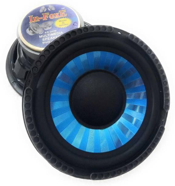 """In-Foxe CarSubwoofer-Sparkle Blue 6""""inch Sparkle Blue woofer audio speaker Subwoofer"""