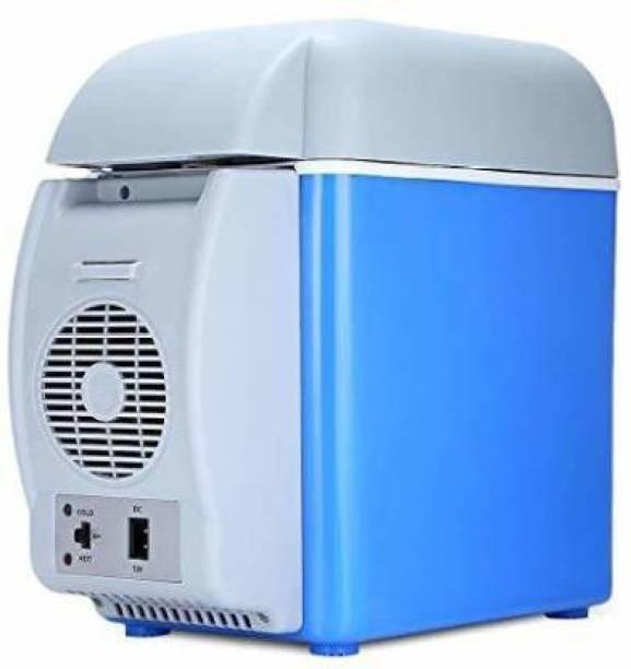 "Madan minifrigde MINI CAR FRIDGE 7799 7.5 L Portable Car Refrigerator Electric Cooler and Warmer Car Refrigerator Portable Mini Fridge "" 7.5 L Car Refrigerator (Blue) 7.5 L Car Refrigerator (Blue) 7.5 L Car Refrigerator"