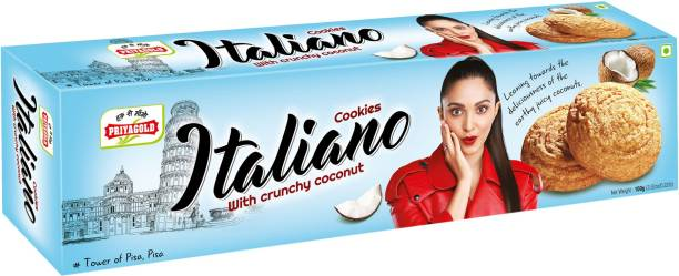Priyagold Italiano with Crunchy Coconut Cookies