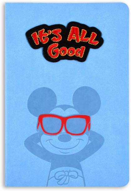 doodle Mickey Mouse - All Good B6 Notebook Ruled 160 Pages