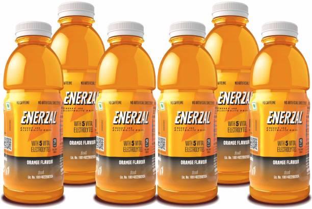 Enerzal Energy Drink Orange Flavour Liquid Energy Drink