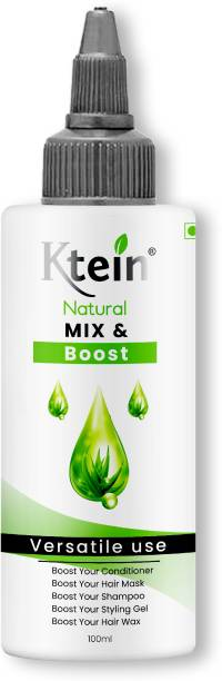 ktein Natural Mix and Boost for boosting your Shampoo, Conditioner, Spray, Hair Mask with natural nutrients Hair Gel