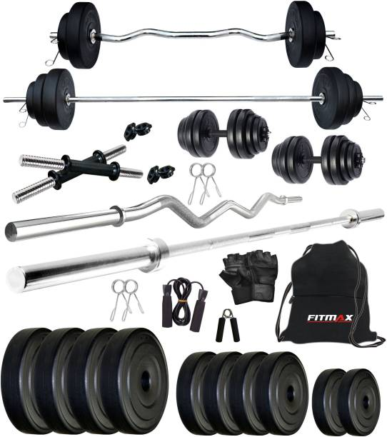 FITMAX 20 kg PVC COMBO 2-SL Home Gym Combo