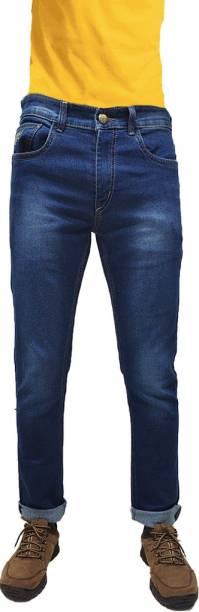 CEFALU Slim Men Blue Jeans
