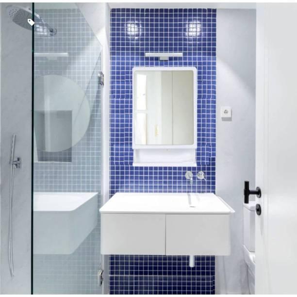 URBAN CHOICE bathroom mirror medicine cabinet multi storage shelf rack Semi-recessed Medicine Cabinet