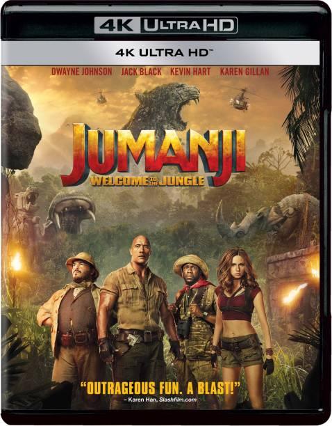 Jumanji: Welcome to the Jungle (4K UHD) (1-Disc)