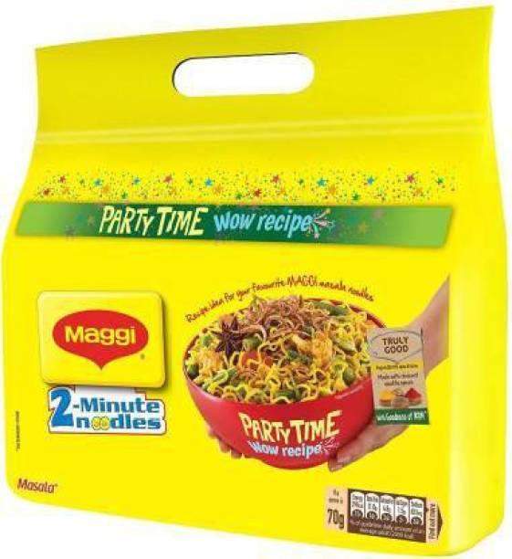Maggi 2-Minute Instant Noodles - Masala, 560g Instant Noodles-(1PKT) Instant Noodles Vegetarian