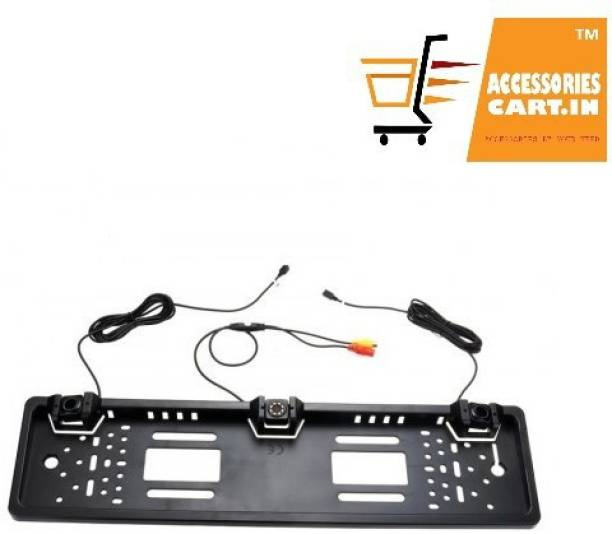 Accessories cart AC-150 Reverse Parking sensor and Camera with No. Plate Guard Parking Sensor