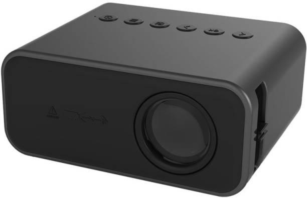 Livato T800 Wired mobile screencast (24 lm / 1 Speaker / Remote Controller) Portable Projector