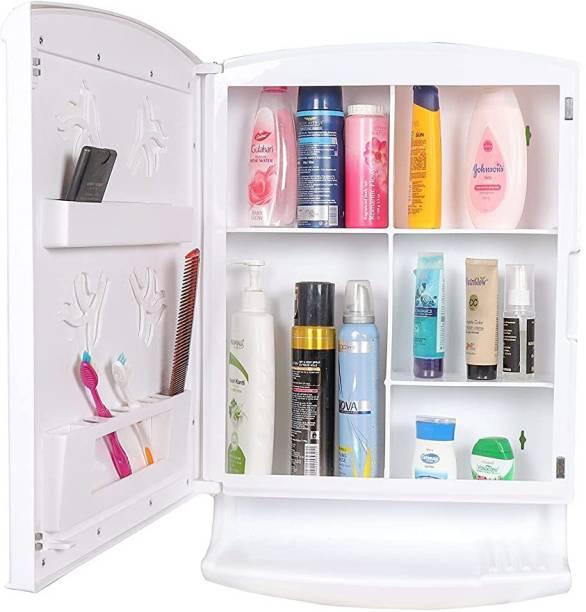 URBAN CHOICE washbasin mirror cabinet makeup storage medical & baby care organizer Semi-recessed Medicine Cabinet