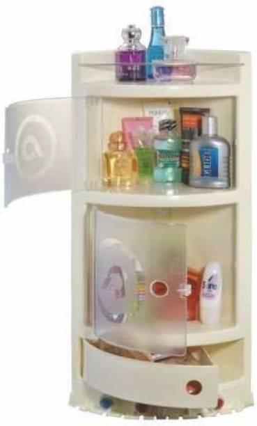 URBAN CHOICE corner rack for medical care, bathroom and laundry Semi-recessed Medicine Cabinet