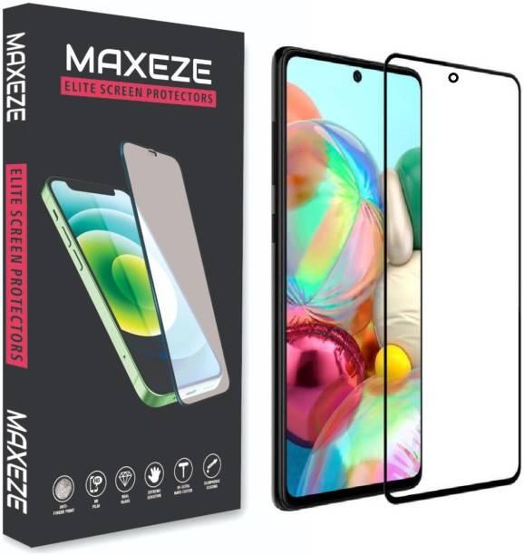 MAXEZE Edge To Edge Tempered Glass for Motorola Edge 20 Fusion