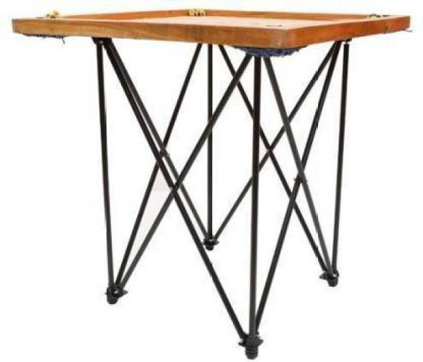 AQUILA Large 32 inches Carrom board with Carrom Stand, Wooden Coins & Striker, Powder Carrom Stand