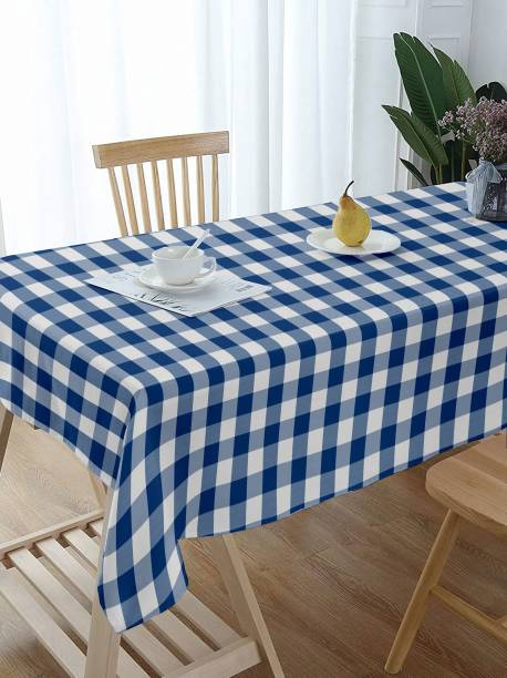 Lushomes Checkered 4 Seater Table Cover