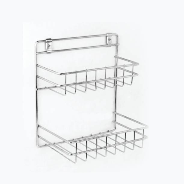 GLOXY Stainless Steel Wall Shelf