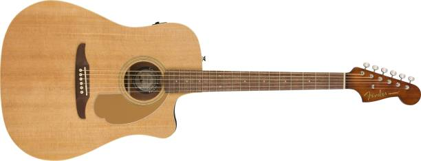 FENDER 0970713121 (Redondo Player Natural WN Semi-acoustic Guitar Solid Wood Rosewood Right Hand Orientation