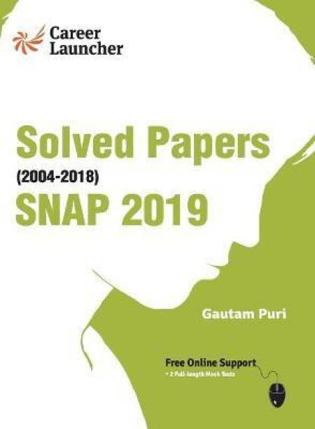 Snap (Symbiosis National Aptitude Test) 2019 Solved Papers 2004-2018